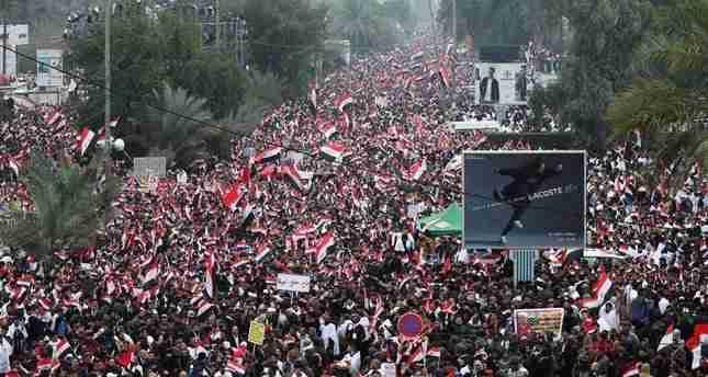 Risultati immagini per iraq milioni manifestazione 24 gennaio